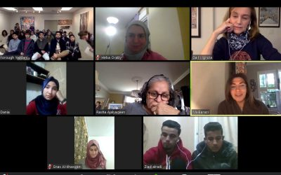 Project Turquoise Youth reunite with Zaatari youth online
