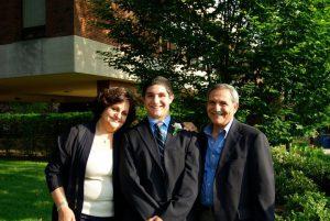 Ammar Al-Shami and his Parents