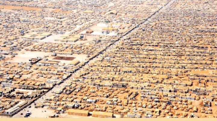 Al-Zaatari Camp in Jordan