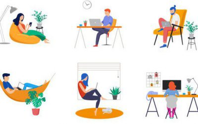 5 Tips for Maintaining Health and Productivity While Working/Studying From Home