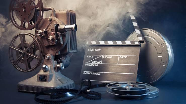 Filming cinema device