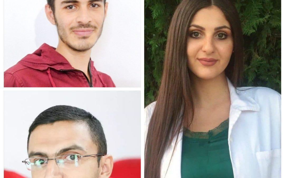 Bashar, Nivin and Bayan