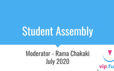 edSeed Student Assembly – July 2020