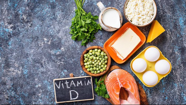 Some foods rich in Vitamin D
