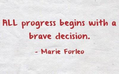 My Brave Decision